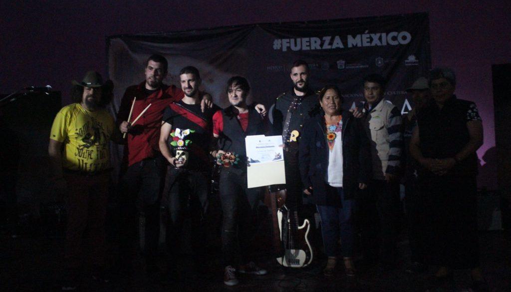 PRIMERA Y EXITOSA GIRA MEXICANA DE NUESTRA HISTORIA