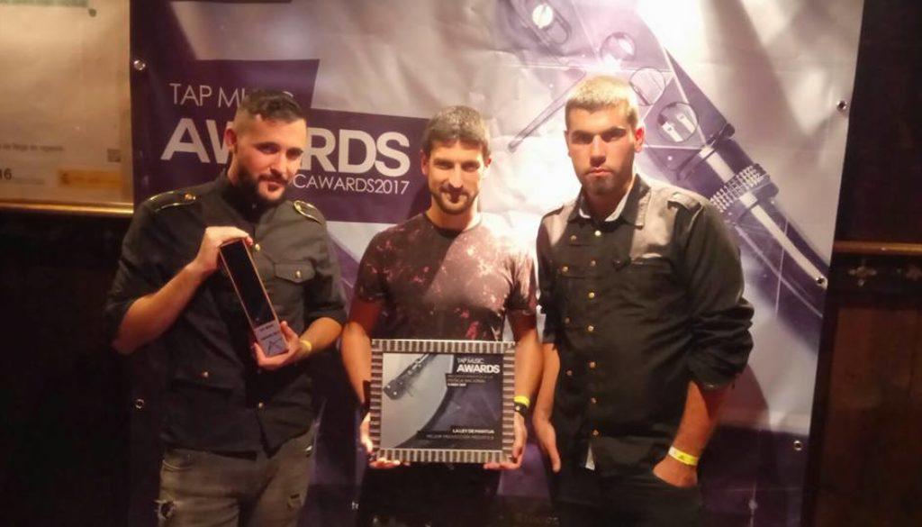 NOCHE PARA EL RECUERDO EN LOS TAP MUSIC AWARDS 2017